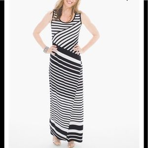 Adorable Like New Chico's Striped Maxi Dress❣️